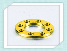 Titanium Washer Drilled M10 (20mm o/d) Gold
