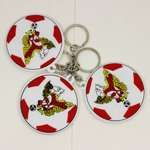 Beautiful Design Gifts for World Cup Sports Key Tags