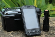 IP68 4inch waterproof phone dual core 512M+4G GPS Optional 3G 850/1900MHz landrover a8 MTK6572 rugged mobile phone gps wifi