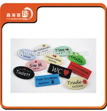 XHFJ newest design elegant custom metal pin badge