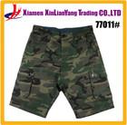 Factory wholesale mens camouflage cargo shorts camo pants