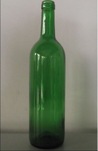 750ml bordeaux glass bottle /750ml antique green liquor glass bottle