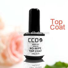 Soak-Off UV&LED nail gel top coat light 18ml cover gel