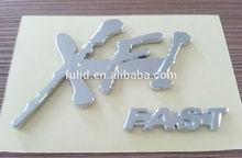 custom made ABS chrome car badges emblems