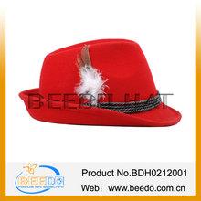 Fashion men wool felt hat bavaria wool felt hat Germany mountain hat