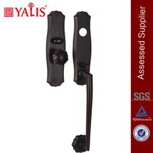 Zhongshan Hardware Oil Rubbed Bronze Key To Knob Long Grip Copper Door Handles