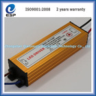 Good quality waterproof 20W LED driver power supply 600MA