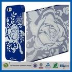 High Quality Art Design Custom for iphone 5 blue hard back case