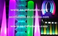 advertising led cone lighting inflatable pillar outdoor pillar gate light