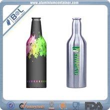 1L top aluminum beer bottle