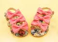 2014 de moda zapatos de los niños bowknots zapatos de bebé niños al por mayor sandalias
