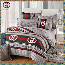 brand cotton printed duvet cover set