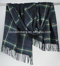 woolen checked shawl