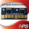Compatible para Lexmark X651 / cortas X652 / X654 / X656 / X658 virutas del toner