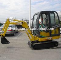 china excavator 8.5t with CE tata hitachi for sale