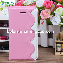 new arrival high quality luxury genuine leather case for apple iphone 5 leather case wallet