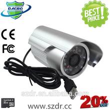 New Product Driver USB24pcs ir leds 10m night vision cctv digital Camera Security Camera made in china