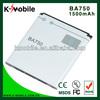 For Sony Ericsson BA750 MT15i Xperia Neo Xperia Ray ST18i Battery