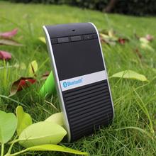 New! Sound Control Solar Sun Visor Bluetooth Handsfree Car Kit , DSP Technology Bluetooth Car Kit