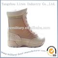 2014 venta caliente estilo militar de camuflaje del ejército tan barato táctico botas del desierto
