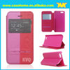 Colour blocking leather cell phone case for iPhone 5 5s