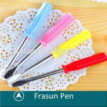 Creative Screw Driver Shape Plastic Pens For Promotion,Novelty Mini Short Body Plastic Pens For Promotion