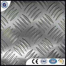 Anti- glissement. plaque d'aluminium/lumineux en aluminium plat checkered