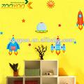 Calcomanía decorativos aeronaves lindo niños casa pared calcomanía/etiqueta de la pared