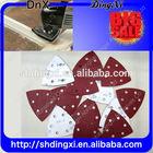 triangle abrasive velcro sanding discs