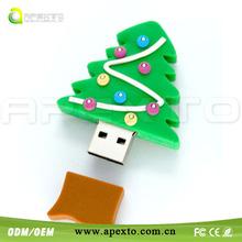 Christmas tree usb Promotional USB Flash Drive great for festival usb
