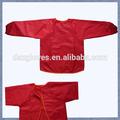 Rojo de encargo niños a prueba de agua smock precio barato