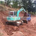 6 toneladas de la rueda hidráulica excavadora excavadora con cabina
