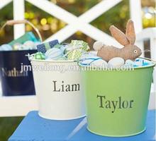 Easter emamel bucket