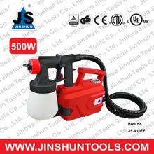 JS Best selling 2.6mm nozzle Auto paint sprayer 500W