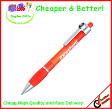 Hot sales Factory price Click action pen transparent barrel Compass pen