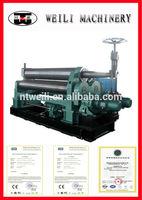 W11S-45X3000 3 rolls small sheet roller bending machine