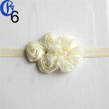 girls lace headband hair plait headband manufacturer baby girl flower headbands