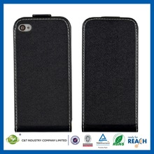 Made in China custom design slim pu leather cover for iphone 5c