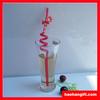 resuable PP straw hard straw crazy straw printing straw