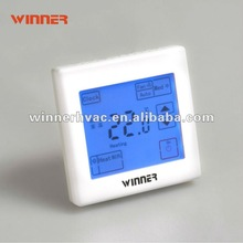 touch screen thermostat, smart digital thermostat for fan coil unit