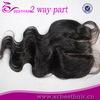 cheap human hair lace closure 2 way part with baby hair