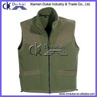 men's fishing vest, polar fleece vest, sports vest for men