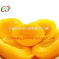 Fabricant fournisseur 2014 nouvelle récolte fruits en conserve pêche jaune en sirop léger