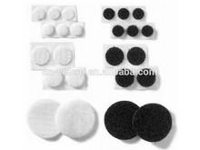Custom shape die cut velcro adhesive hook and loop dots/ coins/ circles