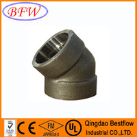 2 inch Forged Stainless Steel Screwed Pipe Fitting Class 150