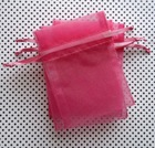 Top Quality Cheap Promotional small organza drawstring pouch