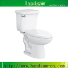 hot sale bathroom ceramic toilet two piece with cheap price