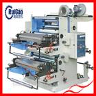 2 color fast sale paper flexo printing press//printing machine