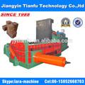Y81/f-1600b venta caliente hidráulica de metal de prensa prensa de balas de chatarra de aluminio( ce y la iso)