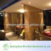 2014 Popular Golden Decorative Chain Curtain Mesh
